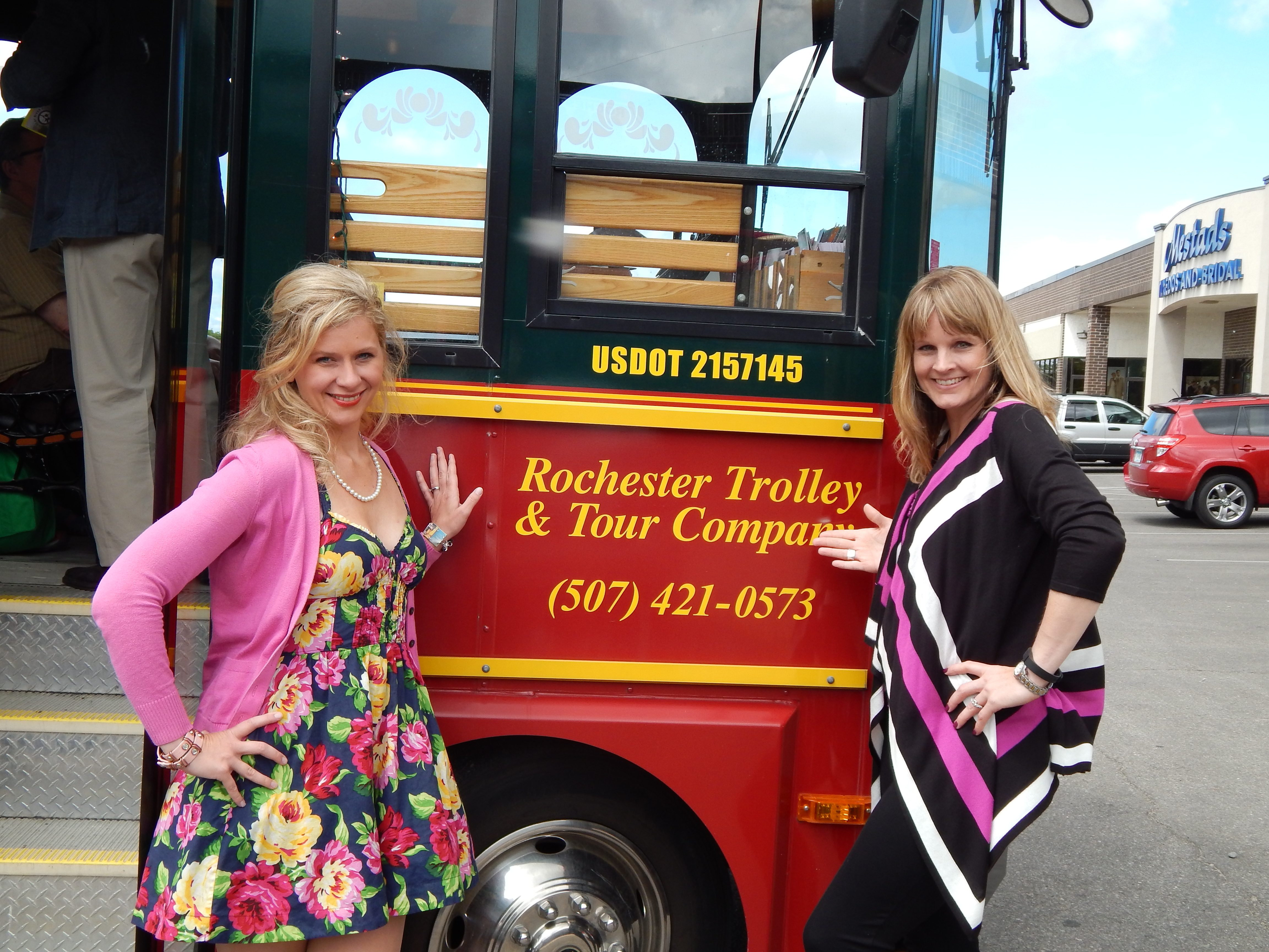 Melissa McNallan and I on our first winery tour for Rochester Women's Magazine. The two of us will be co-writing articles about Minnesota winerys.