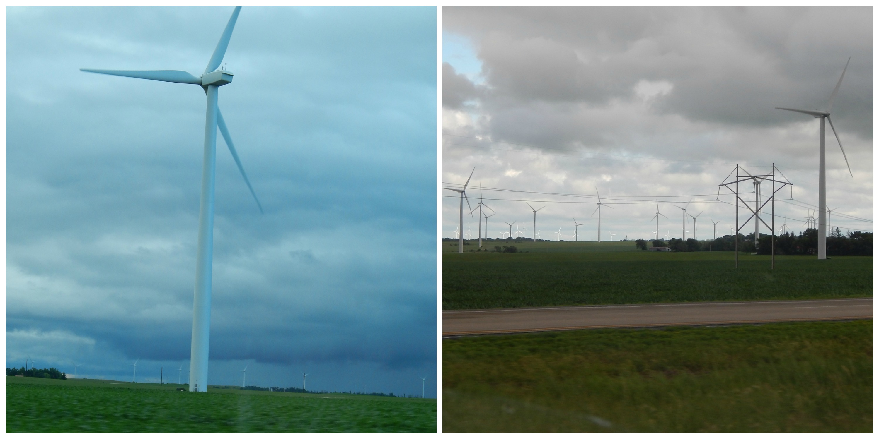 Southwestern Minnesota has hundreds of Wind Farms.