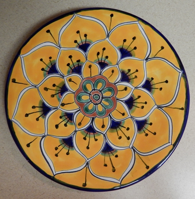 Ceramic Decorative Spanish Plate