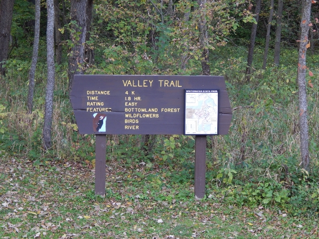 Valley Trail in Whitewater State Park
