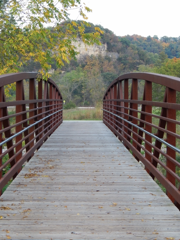 Bridge in Whitewater State Park