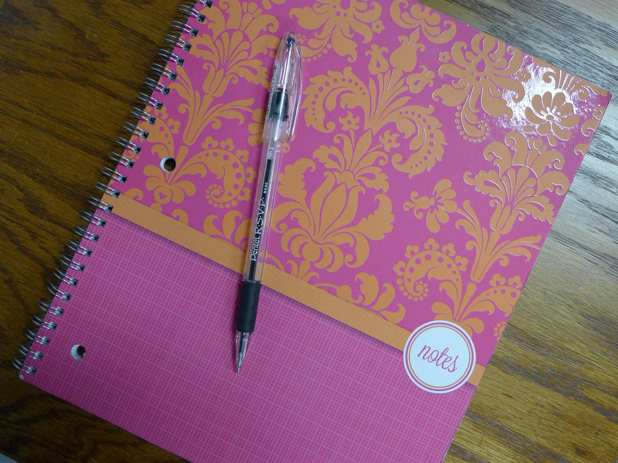 A notebook and pen to jot down thoughts.